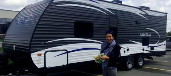 29' Camper Rental Exterior, Travel Trailer Rental Exterior, Denver Colorado Camper Rental