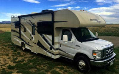 30' RV Rental Exterior, Freedom Elite 28H RV Rental